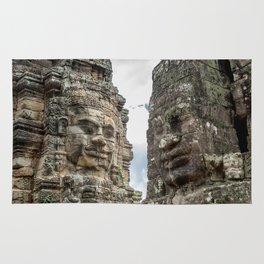 Bayon Temple, Angkor Thom, Cambodia Rug