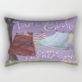 Pin Up Rectangular Pillow