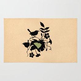 South Carolina - State Papercut Print Rug