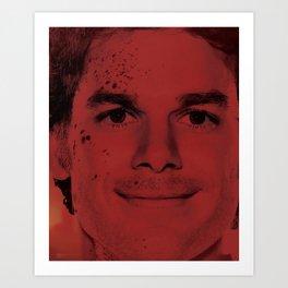 Dexter - Dexter Morgan Art Print