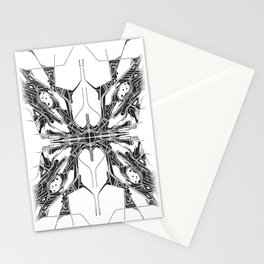 """X"" Stationery Cards"