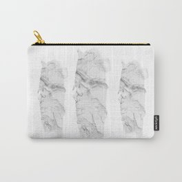 Marble brush stroke Carry-All Pouch