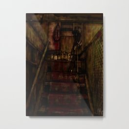 stairwell Metal Print