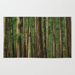 Sitting in the Forest Rug