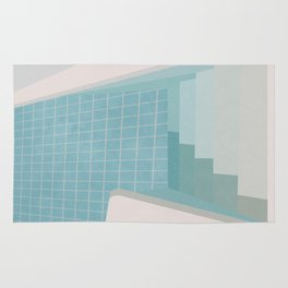 Swimming Pool Summer Rug