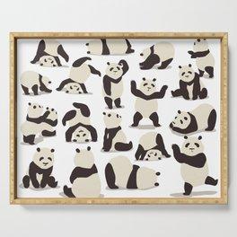Pandas Party Serving Tray