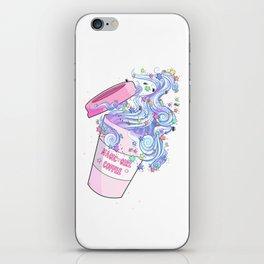 Magic Girl Coffee iPhone Skin