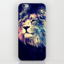 Galaxy Lion : Deep Pastels iPhone Skin