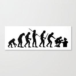 Computer Evolution Canvas Print