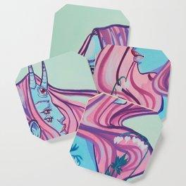 Bleeding hearts Coaster
