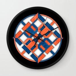 Chamarian Star - Belief Color Scheme Wall Clock