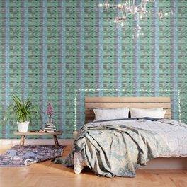 Wavy light green Wallpaper