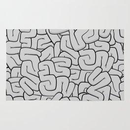 Guts or Brains - Grey Rug