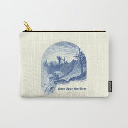 Once Upon the River (Cyan Blue) Carry-All Pouch