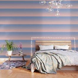 Pantone Rose Quartz and Serenity Ombre Wallpaper