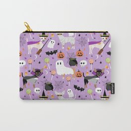 Chihuahua halloween cute spooky seasonal dog pattern chihuahuas Carry-All Pouch