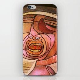 EL MIEDO DEL TORERO iPhone Skin