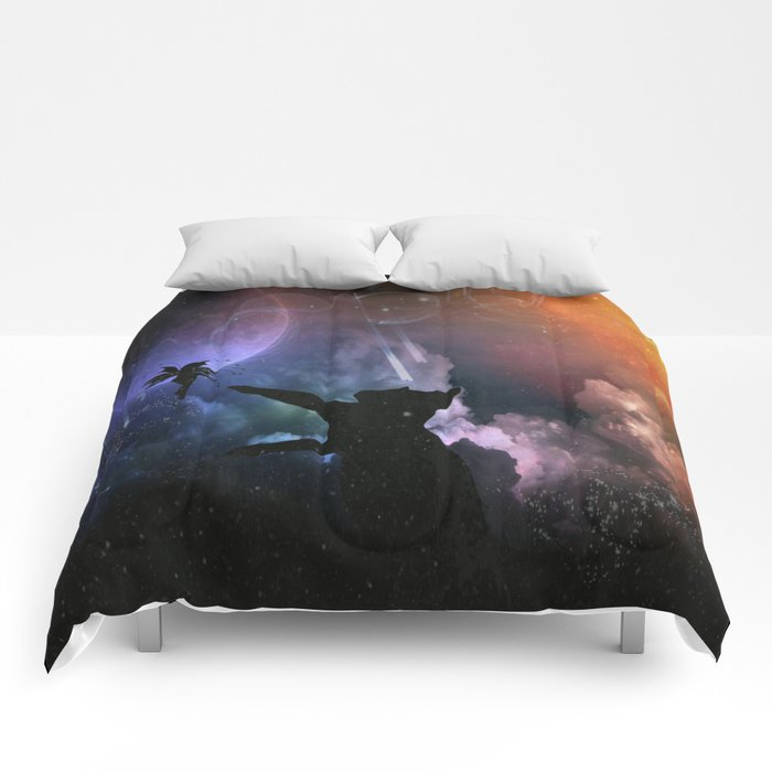 Fairy Chase Comforters