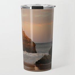 Sunset at the beach Travel Mug