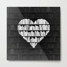 Book Lover Metal Print