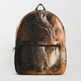 Fire in the Lion Backpack