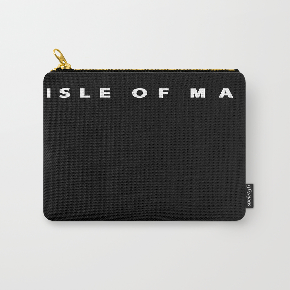 Isle Of Man Tt T Shirt Motorcycle Carry-all Pouch by Reashop CAP8780598