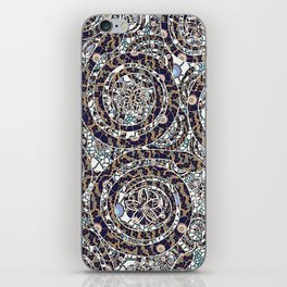 Year of the Snake mosaic iPhone Skin