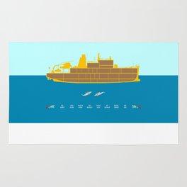 The Life Aquatic - Alternative Movie Poster Rug