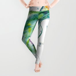 Whispers By The Sea Leggings