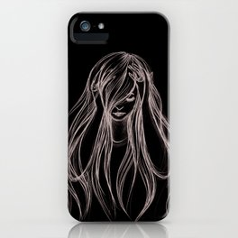 Hair.  iPhone Case