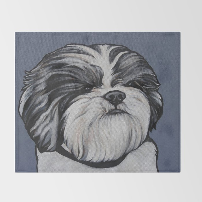 Products for Herbie the Shih Tzu Throw Blanket