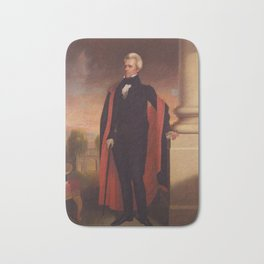 Andrew Jackson Painting Bath Mat