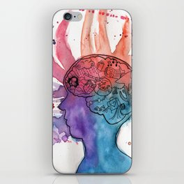 This Is Your Brain On Inspiration iPhone Skin