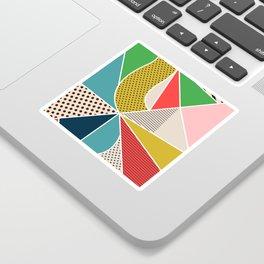color segments 002 Sticker