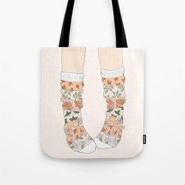 Spring Socks Tote Bag