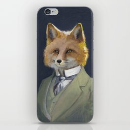 FOX FRIEND, by Frank-Joseph iPhone Skin