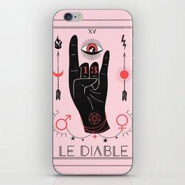 Le Diable or The Devil Tarot iPhone Skin