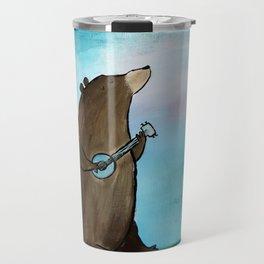 Campfire Bear Travel Mug