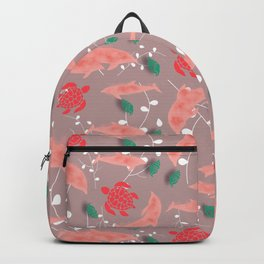Dolphin old pink Backpack