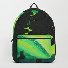 Serene Aurora Borealis Backpack