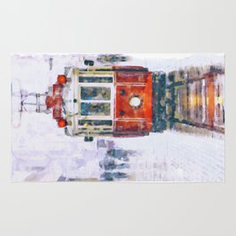 Istanbul Nostalgic Tramway Rug