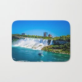American Falls with Boat Bath Mat