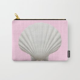 Pink Shell Carry-All Pouch