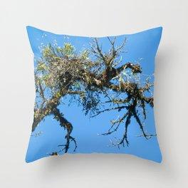 Treehuggers Throw Pillow
