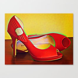 Ruby Slippers Canvas Print