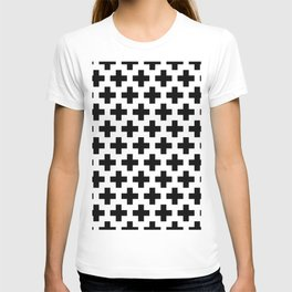 Swiss Cross B&W T-shirt