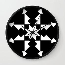 Throwing Dart Wall Clock