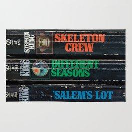 Stephen King Well-Worn Paperbacks Rug