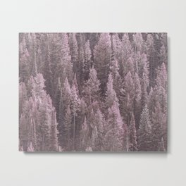 HER FOREST Metal Print