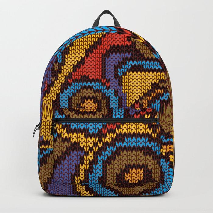 Circle Knit Backpack By Zeljkica Society6